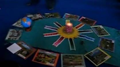 Il rito del compleanno nella scuola Montessori con il cerchio dell'anno 4