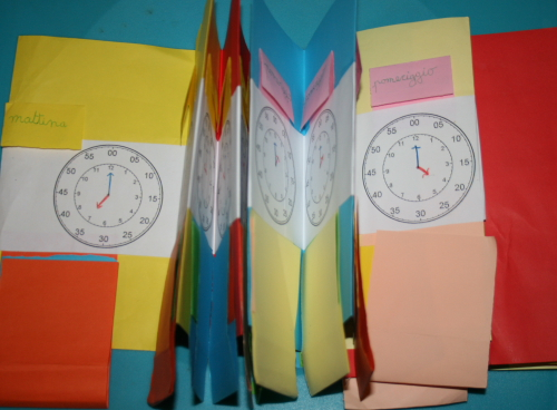 Impariamo a leggere l'orologio 11