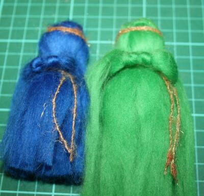 Mobile in lana cardata per la culla del neonato 18