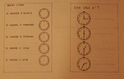 L'orologio - presentazione in prima classe