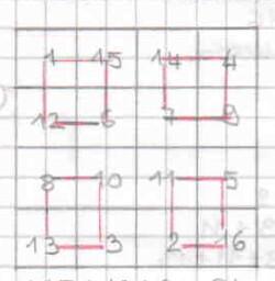 Quadrati magici per esercitarsi con l'addizione 6