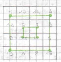 Quadrati magici per esercitarsi con l'addizione 8