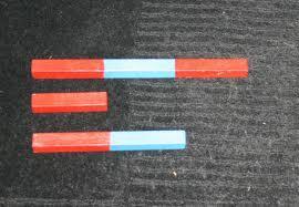 Aste numeriche Montessori esercizi per imparare il nome dei numeri da uno a dieci 6