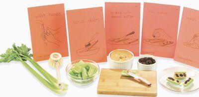 Attività di vita pratica Montessori - cucinare 2