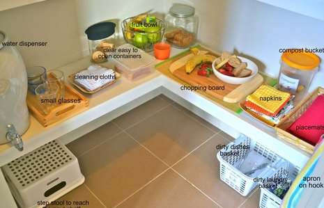 Attività di vita pratica Montessori - cucinare 4