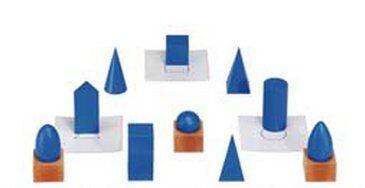 Cesto dei solidi geometrici Montessori 6