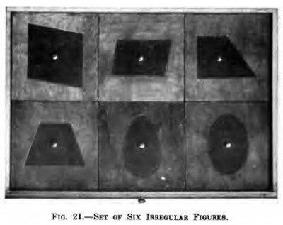 Cofanetto delle figure geometriche piane Montessori presentazione ed esercizi 12