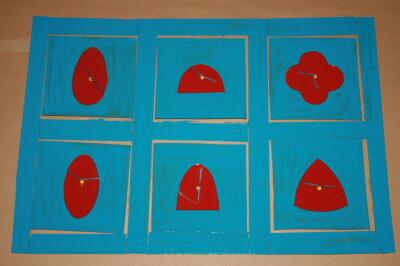 Cofanetto delle figure geometriche piane Montessori presentazione ed esercizi 19