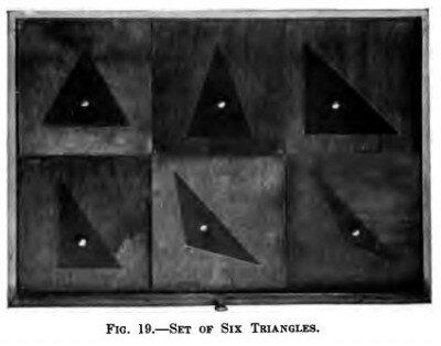 Cofanetto delle figure geometriche piane Montessori presentazione ed esercizi 9