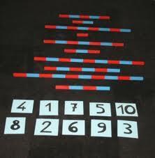 Numeri tattili Montessori presentazione ed esercizi 4