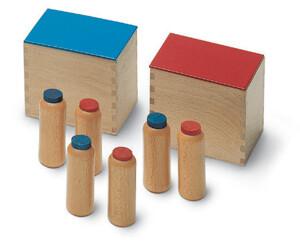 cilindri dei rumori Montessori