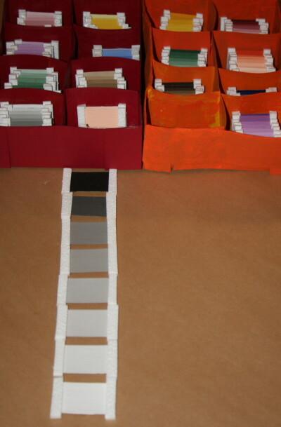 spolette dei colori Montessori 38