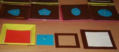 Costruire gli incastri metallici Montessori - tutorial 12