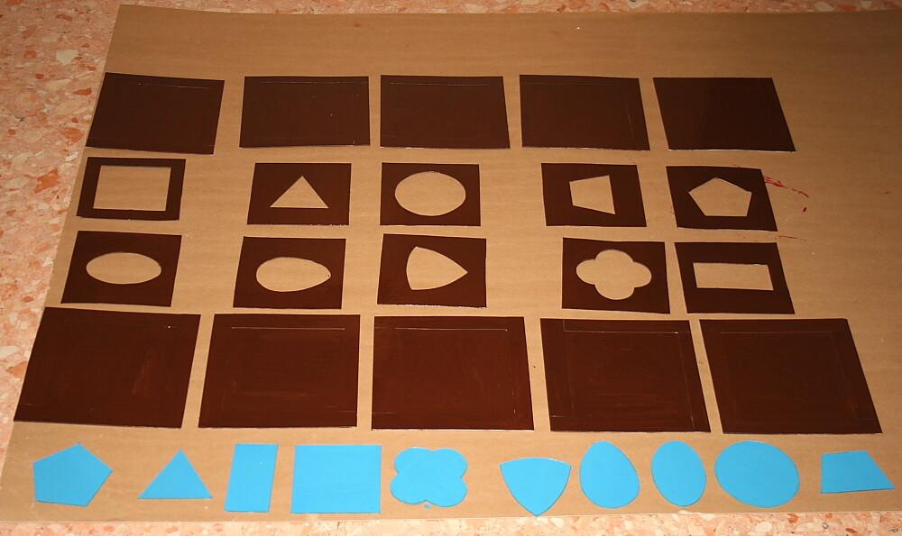 Costruire gli incastri metallici Montessori - tutorial 9