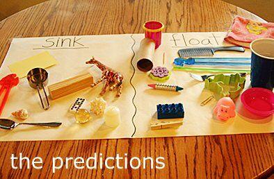Esperimenti scientifici per bambini - Affonda o galleggia
