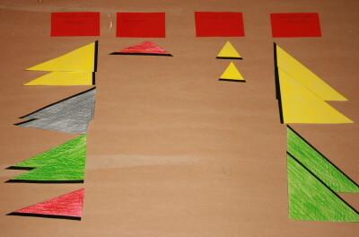 I triangoli costruttori Montessori 10