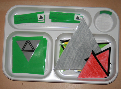 I triangoli costruttori Montessori 14