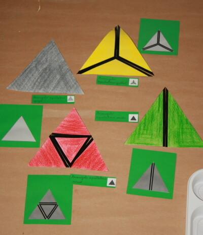 I triangoli costruttori Montessori 15