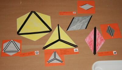 I triangoli costruttori Montessori 18