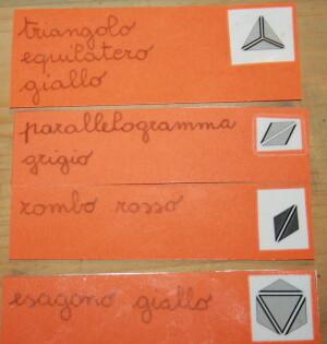 I triangoli costruttori Montessori 4