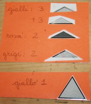 I triangoli costruttori Montessori 6