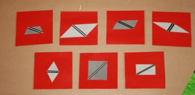 I triangoli costruttori Montessori 9