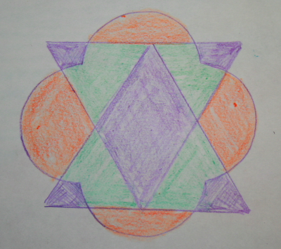 Prescrittura Montessori - come si usano gli incastri metallici 15