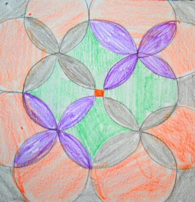 Prescrittura Montessori - come si usano gli incastri metallici 16
