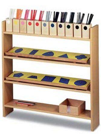 Prescrittura Montessori - come si usano gli incastri metallici 3