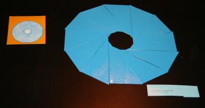 Triangoli blu Montessori 12