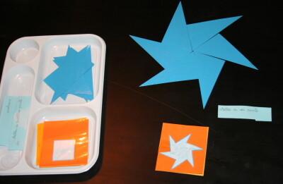 Triangoli blu Montessori 14