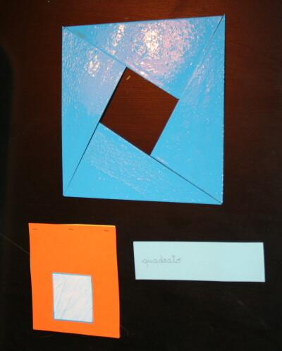 Triangoli blu Montessori 15
