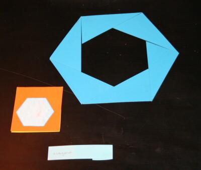Triangoli blu Montessori 16