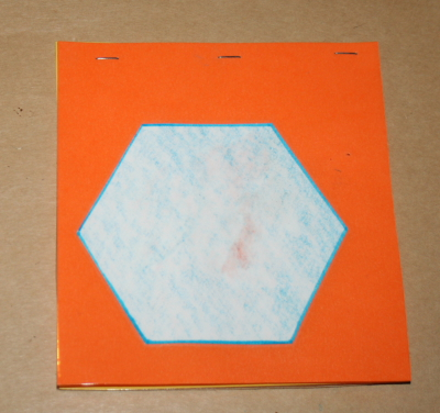 Triangoli blu Montessori 9