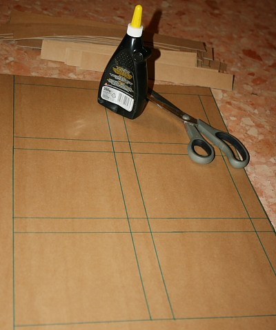 Tutorial DIY Montessori costruire il cofanetto delle figure geometriche 21