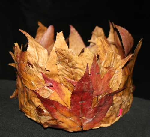 corona di foglie 1