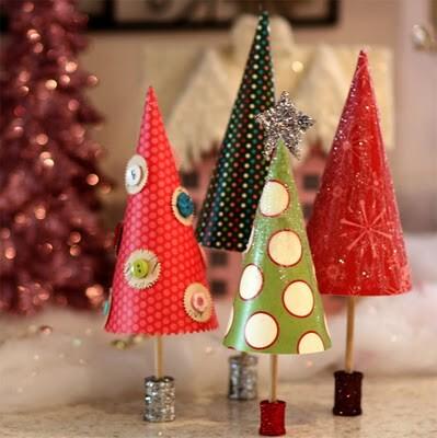 Alberi di Natale - 50 e più progetti creativi - 26