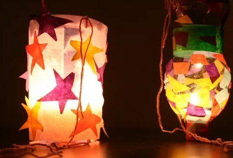 Lanterne facili, veloci, riciclate 2