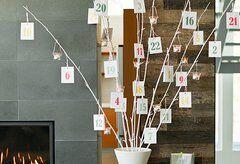 Natale Calendari dell'Avvento fai da te - 70 e più idee - 38b