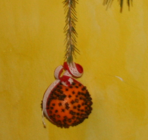 Pomander - Arance coi chiodi di garofano 5
