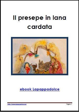 Presepe in lana cardata - ebook 1