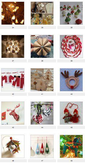 Decorazioni natalizie fai da te 50 idee per decorare la - Decorare albero di natale idee ...