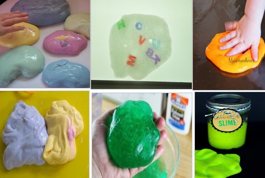 What is the formula for silly putty?