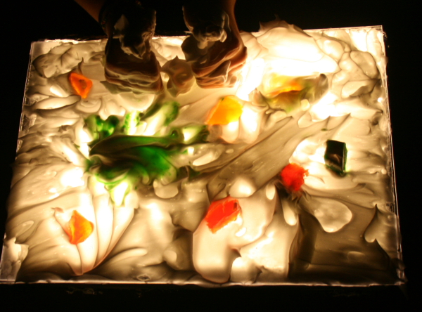Tutorial come costruire una lavagna luminosa lightbox economica e facilissima lapappadolce - Tavolo luminoso per disegno ...
