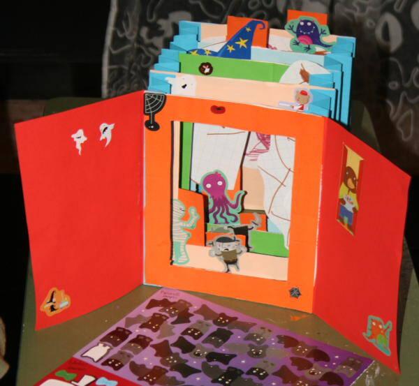 Fare i libri coi bambini i libri tunnel lapappadolce - Libri di scuola materna stampabili gratuitamente ...
