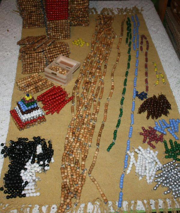 Costruire il materiale delle perle colorate Montessori perle-colorate-Montessori-6