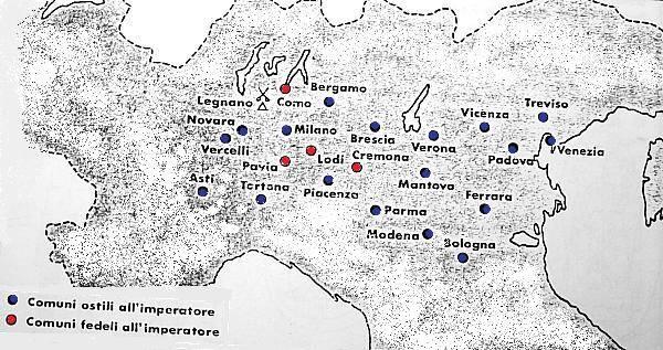 I comuni italiani nel medioevo il blog della terza d for Numero dei parlamentari italiani