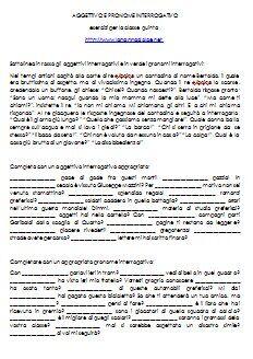 i pronomi relativi esercizi pdf