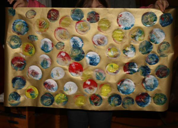 Carta da regalo fai da te stampata coi palloncini for Arte fai da te