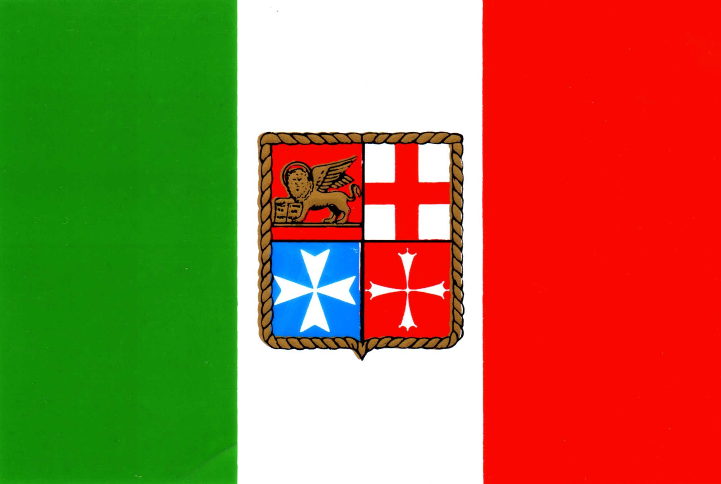 Bandiera navale italiana